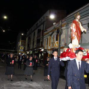 desfile cristo