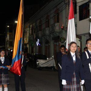 desfile escudo
