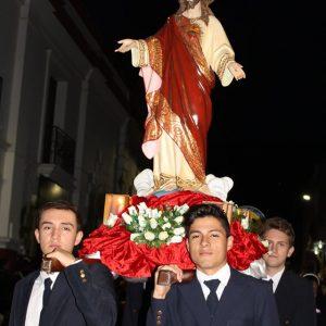 procesion sagrado corazon